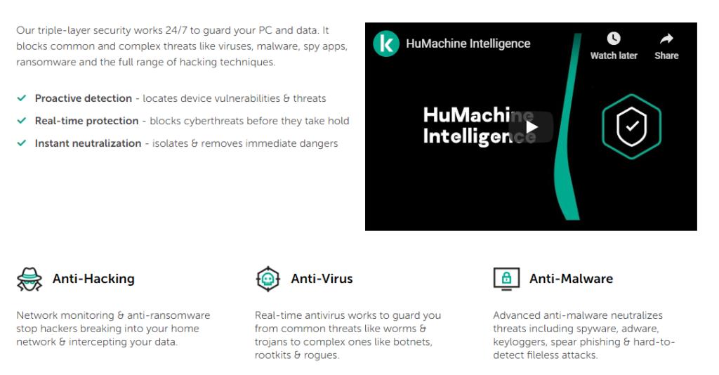 kaspersky antivirus alternatives